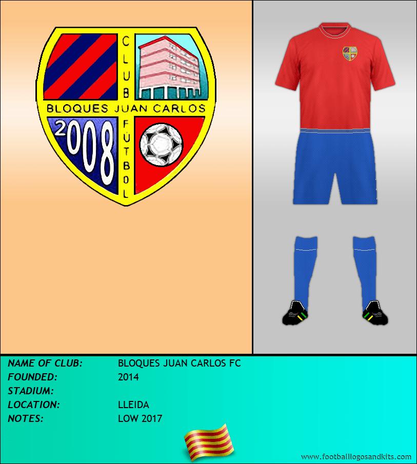 Logo of BLOQUES JUAN CARLOS FC