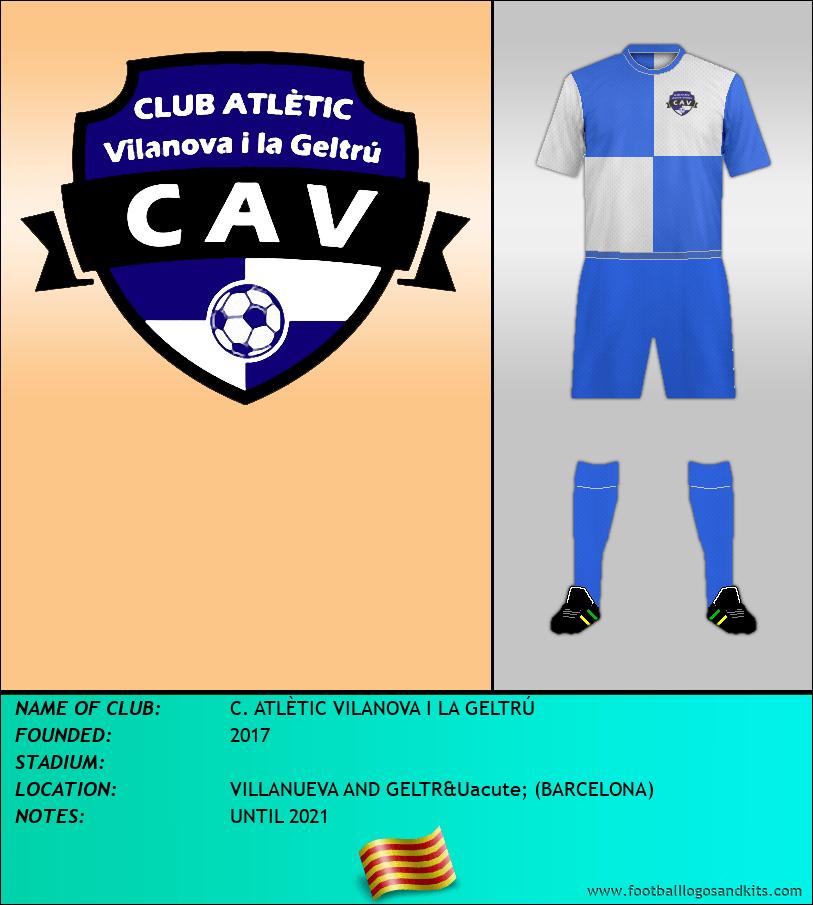 Logo of C. ATLÈTIC VILANOVA I LA GELTRÚ