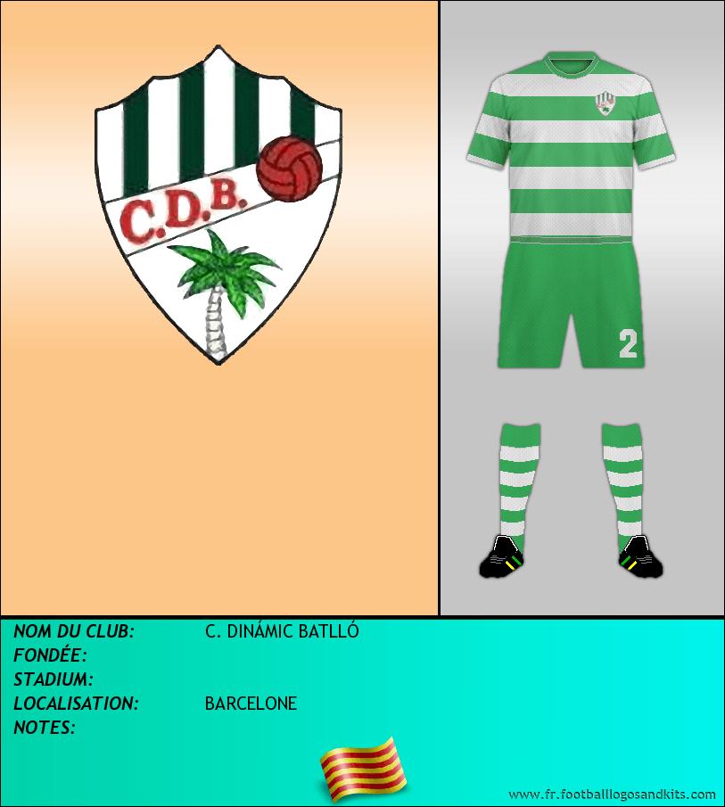 Logo de C. DINÁMIC BATLLÓ