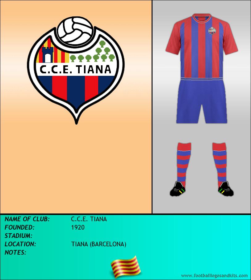 Logo of C.C.E. TIANA
