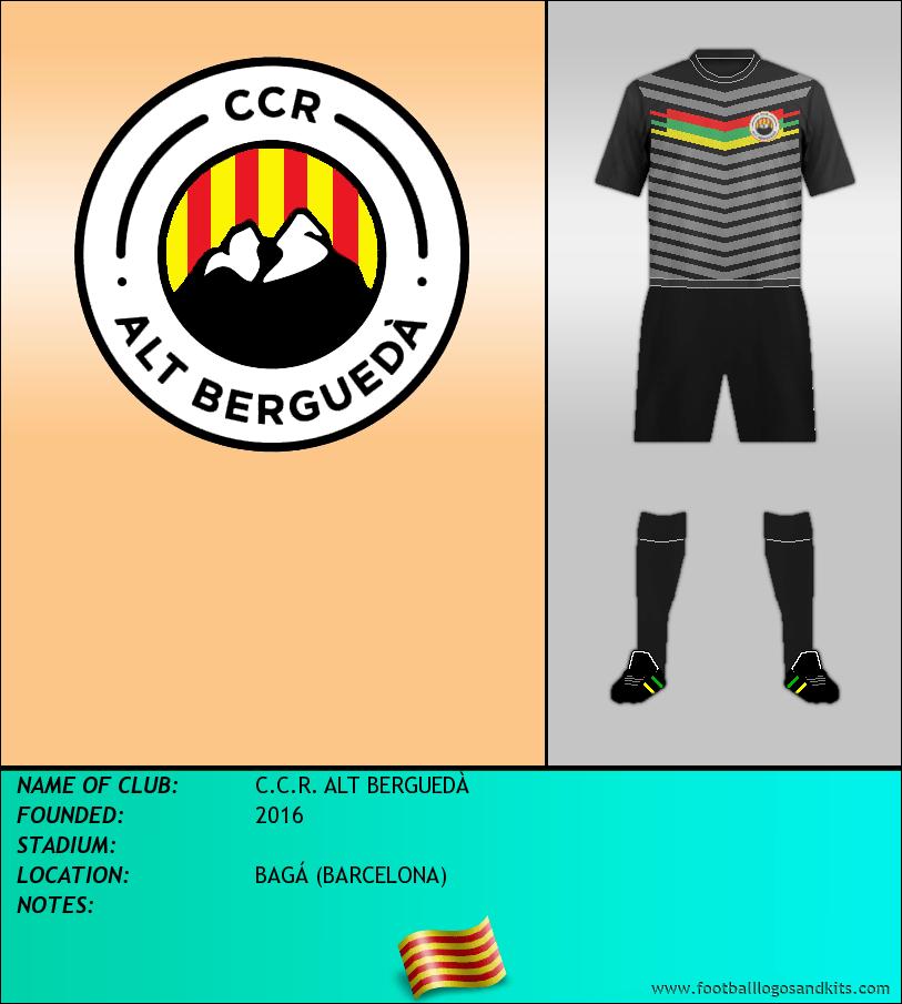 Logo of C.C.R. ALT BERGUEDÀ