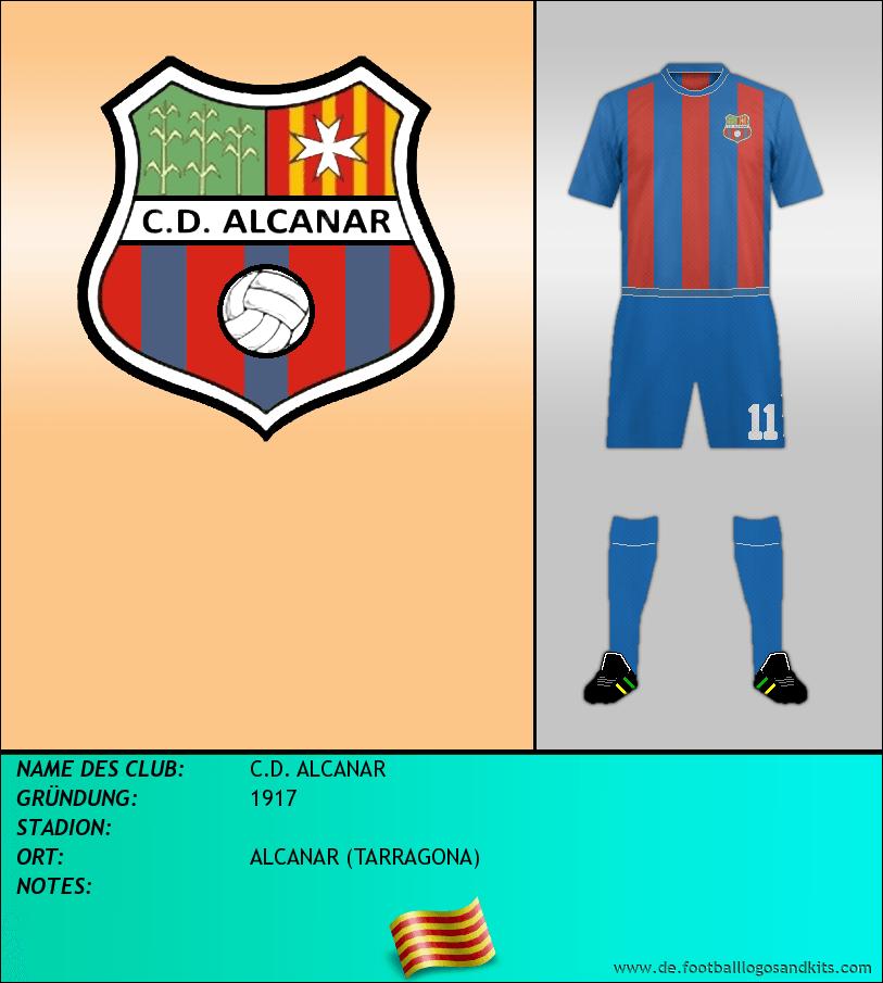 Logo C.D. ALCANAR