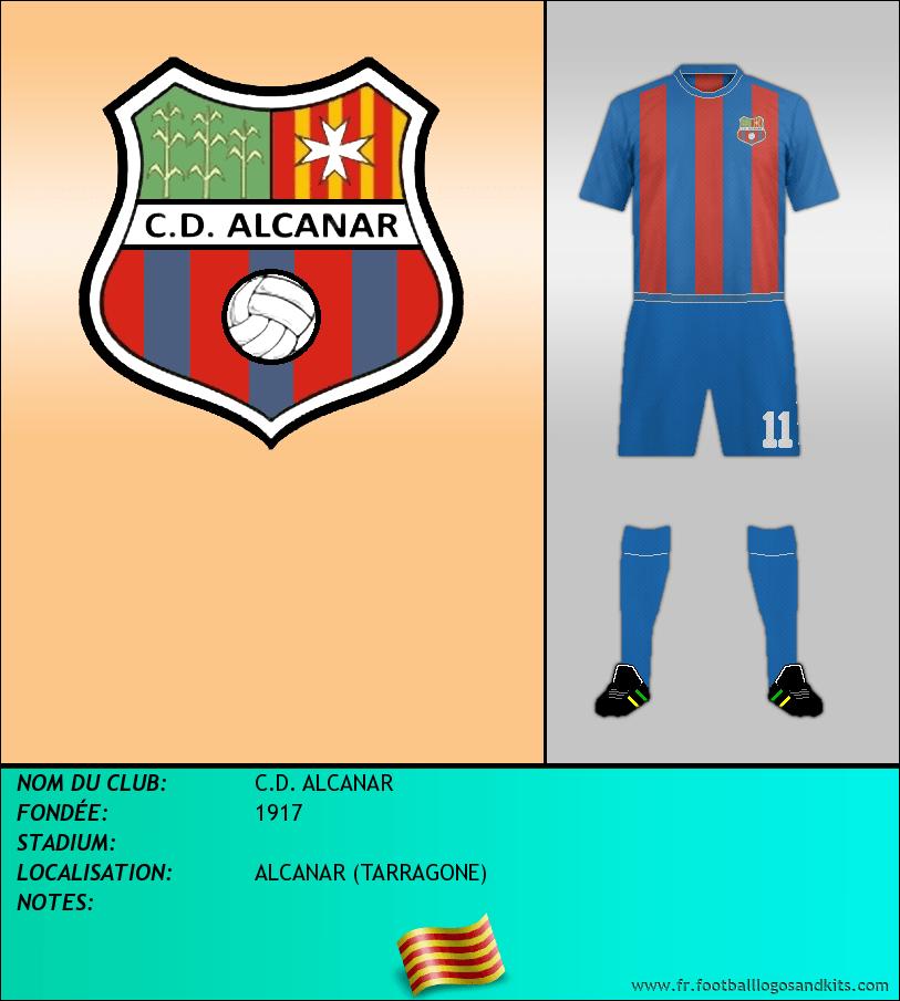 Logo de C.D. ALCANAR