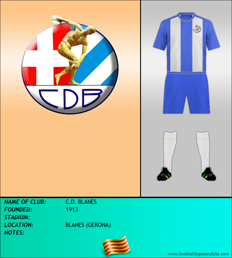 Logo of C.D. BLANES