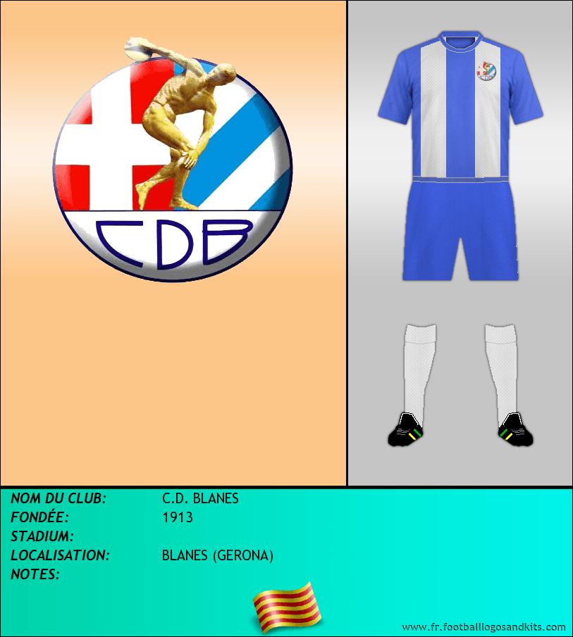 Logo de C.D. BLANES