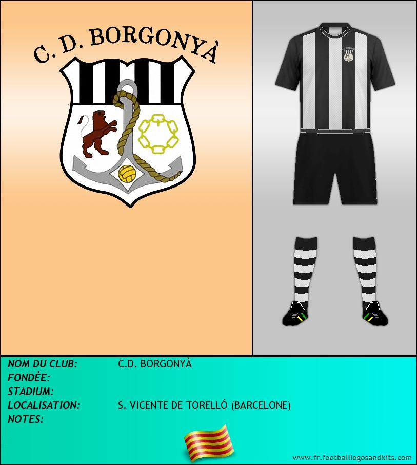 Logo de C.D. BORGONYÀ