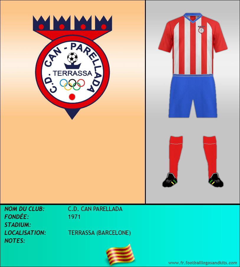 Logo de C.D. CAN PARELLADA