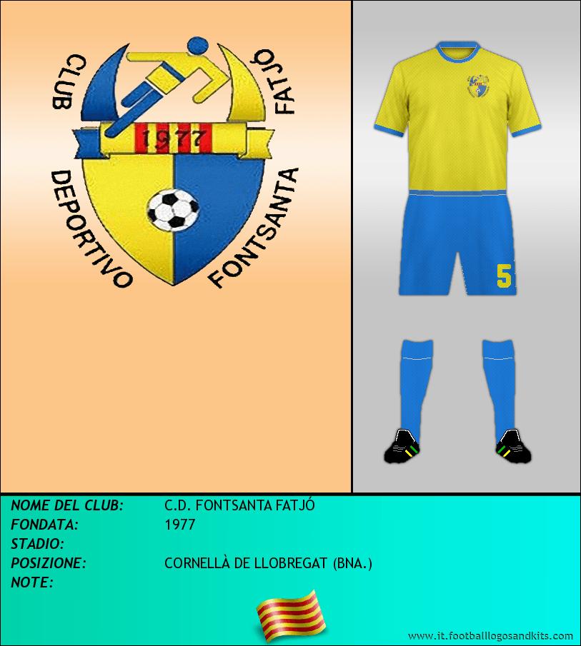 Logo di C.D. FONTSANTA FATJÓ