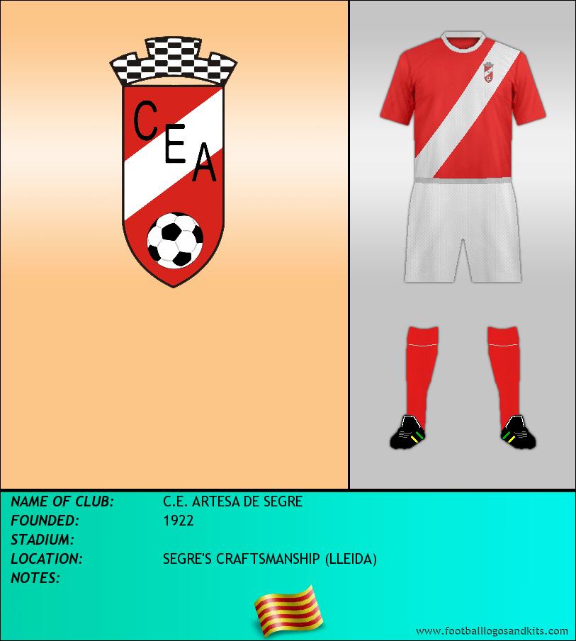 Logo of C.E. ARTESA DE SEGRE