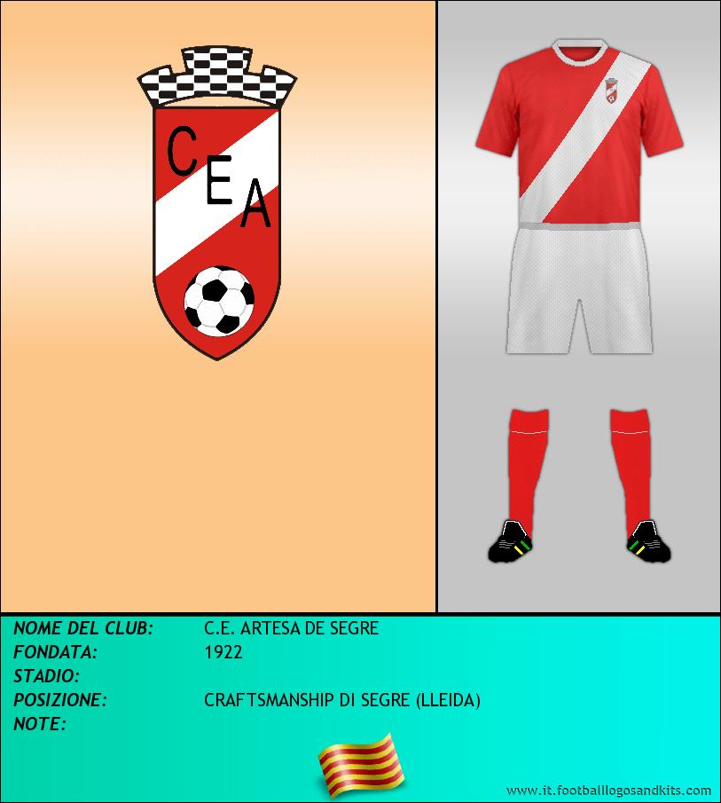 Logo di C.E. ARTESA DE SEGRE