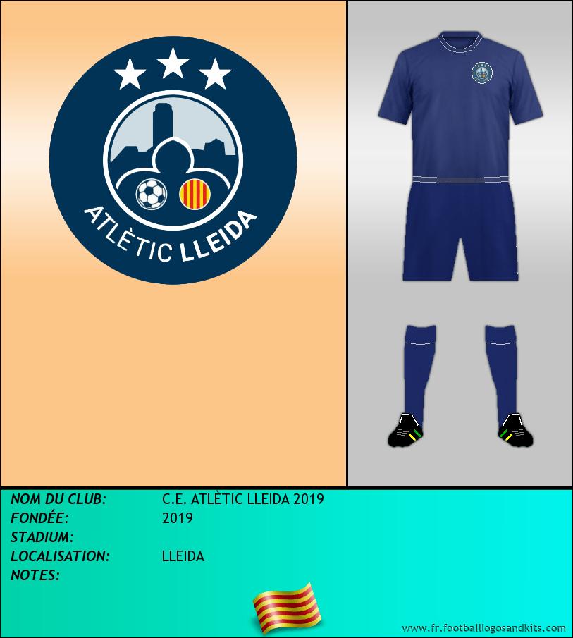 Logo de C.E. ATLÈTIC LLEIDA 2019