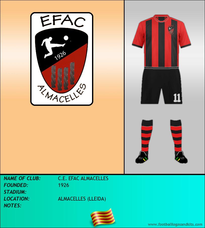 Logo of C.E. EFAC ALMACELLES