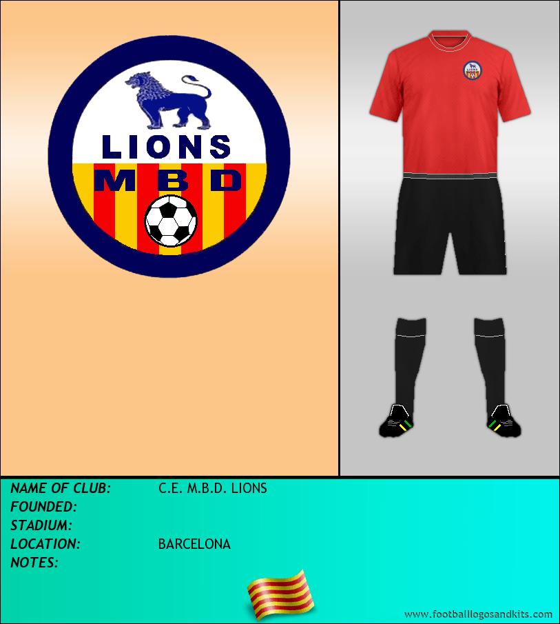 Logo of C.E. M.B.D. LIONS
