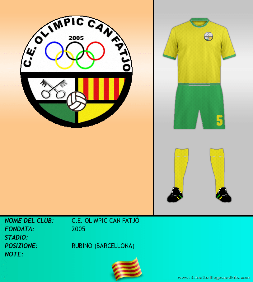 Logo di C.E. OLIMPIC CAN FATJÓ