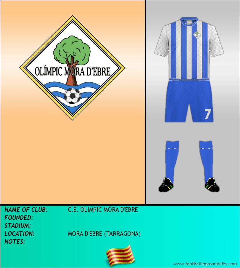 Logo of C.E. OLIMPIC MÒRA D'EBRE