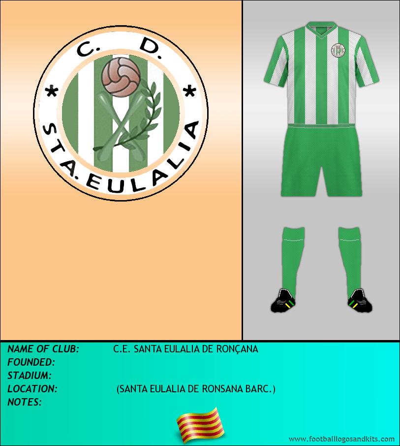 Logo of C.E. SANTA EULALIA DE RONÇANA