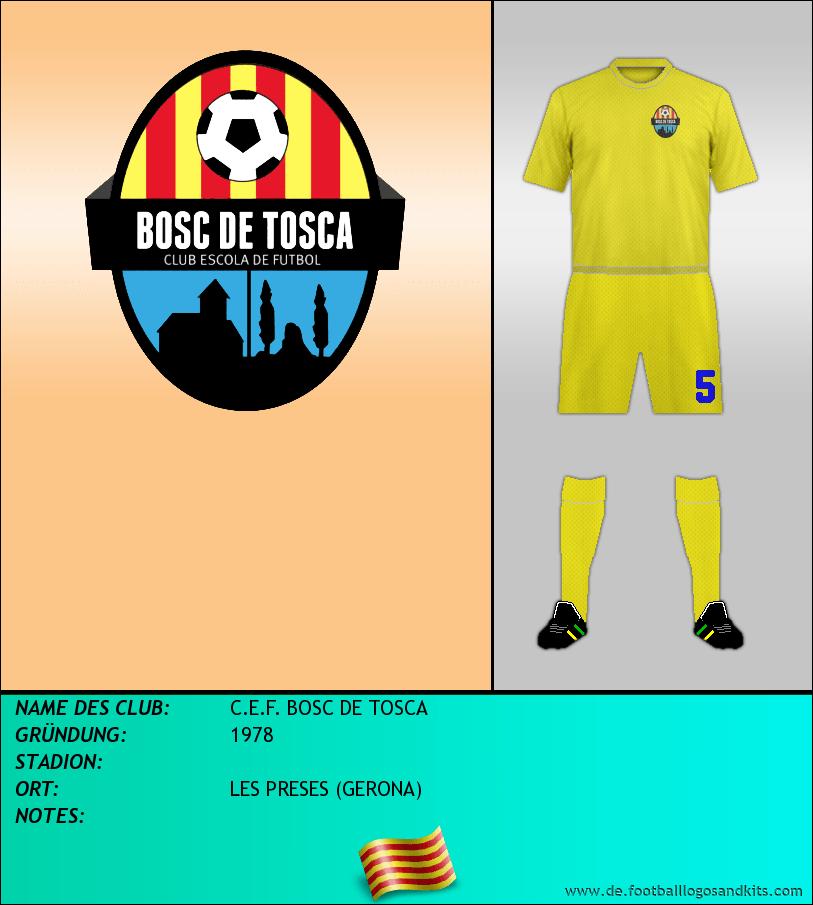 Logo C.E.F. BOSC DE TOSCA