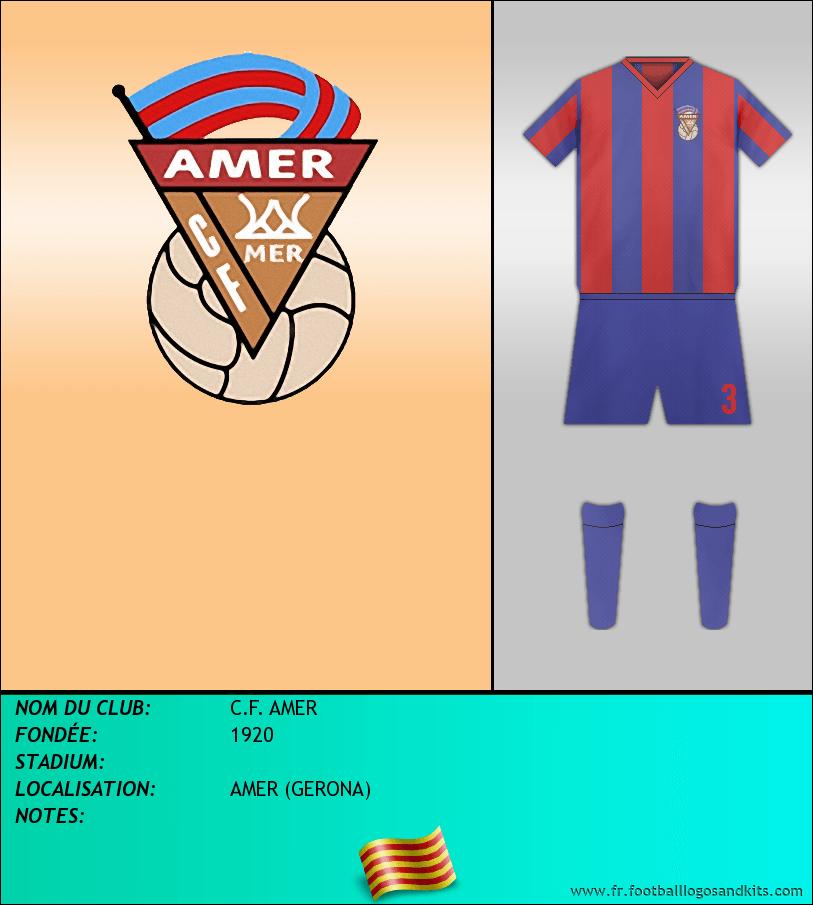 Logo de C.F. AMER