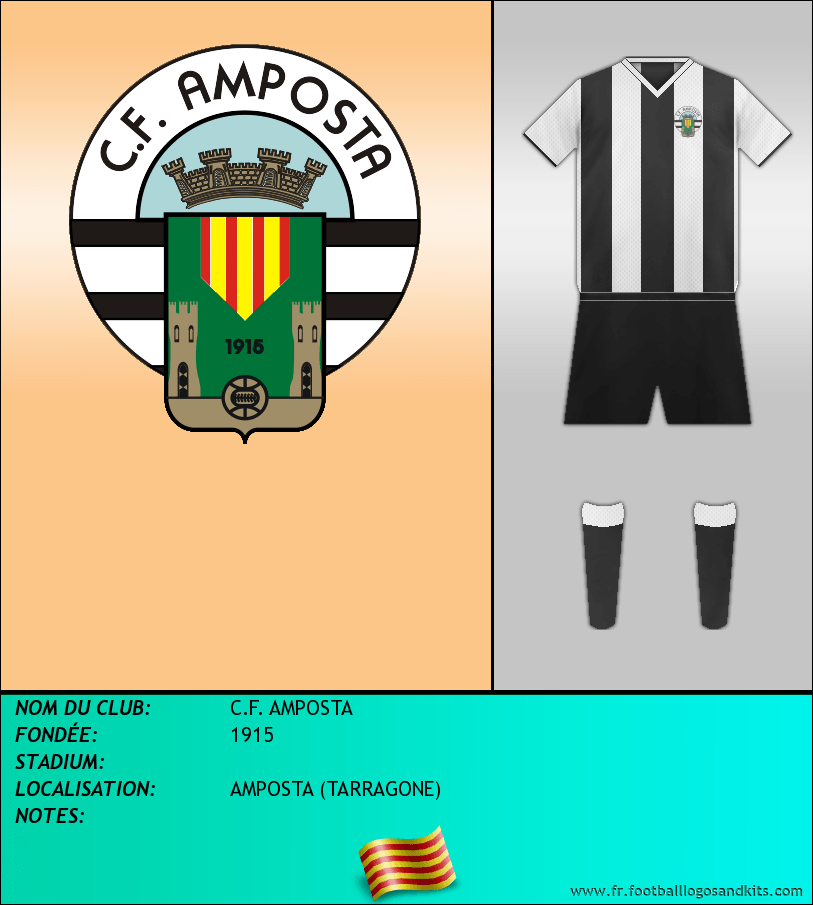 Logo de C.F. AMPOSTA