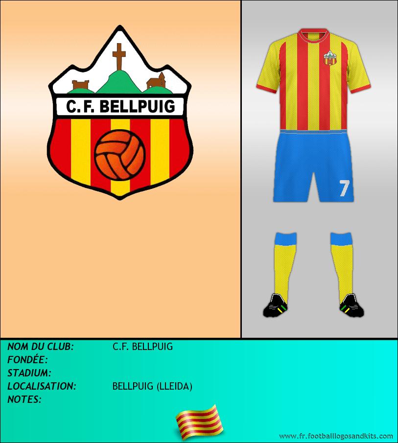 Logo de C.F. BELLPUIG