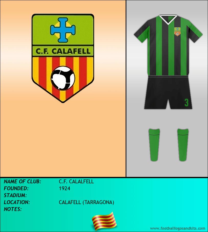 Logo of C.F. CALALFELL
