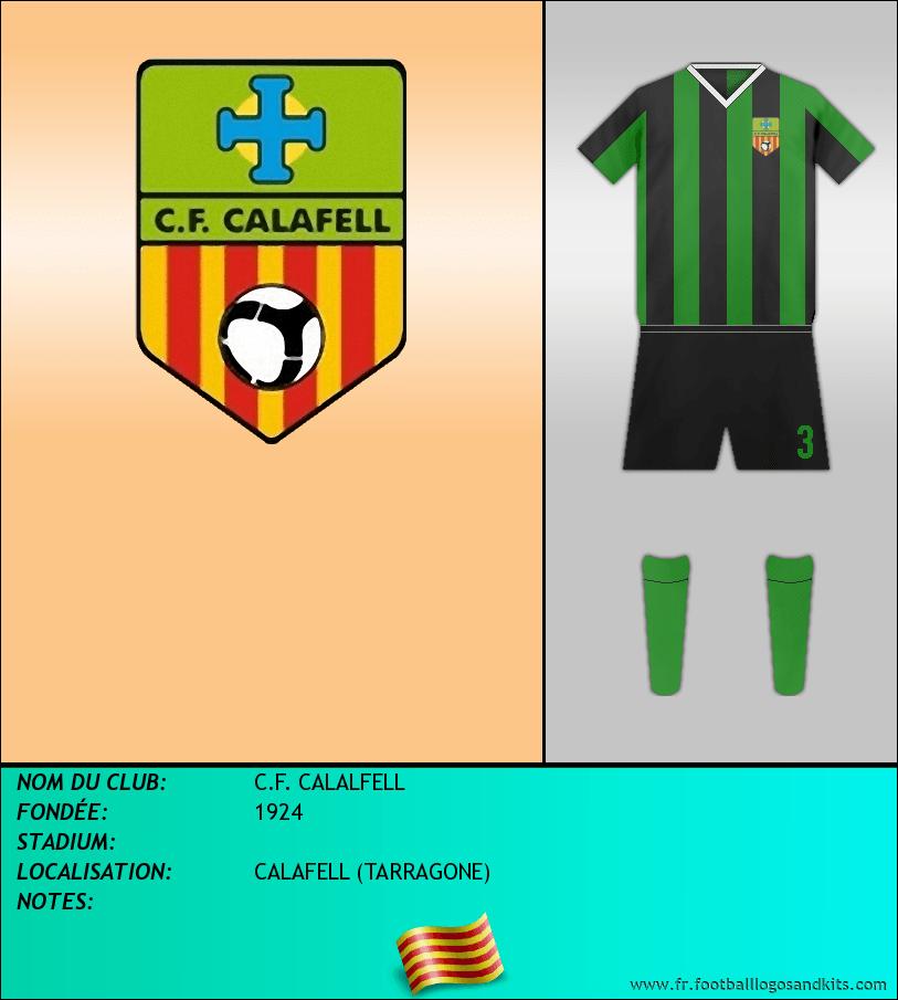 Logo de C.F. CALALFELL