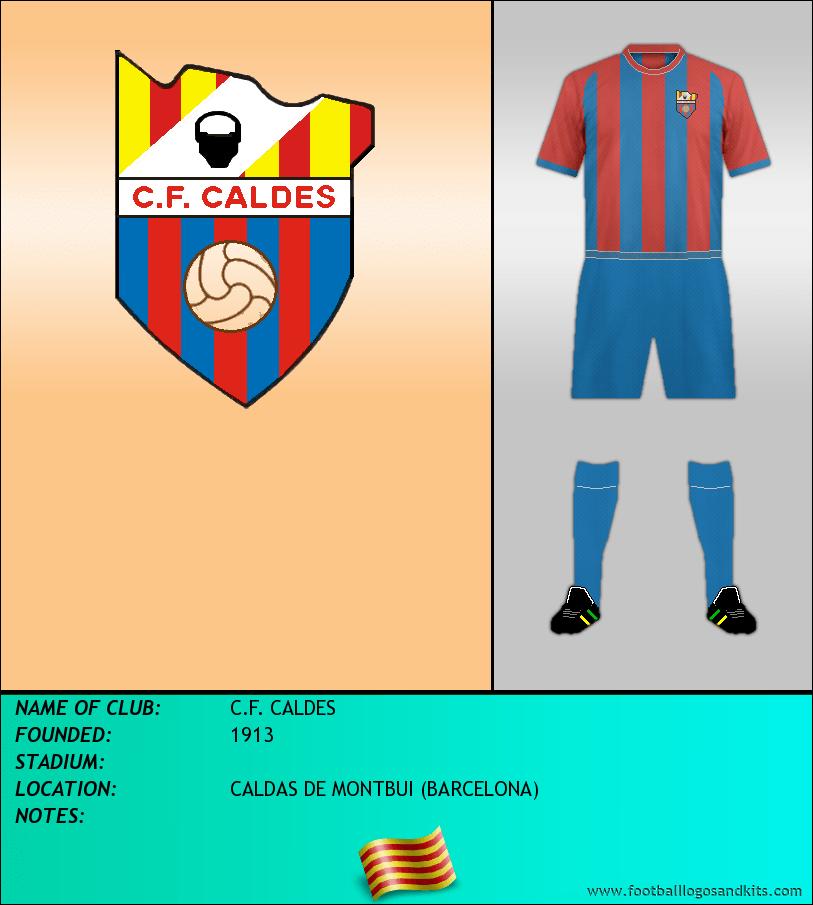 Logo of C.F. CALDES