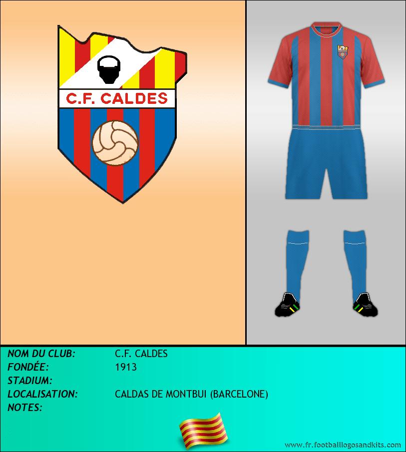 Logo de C.F. CALDES
