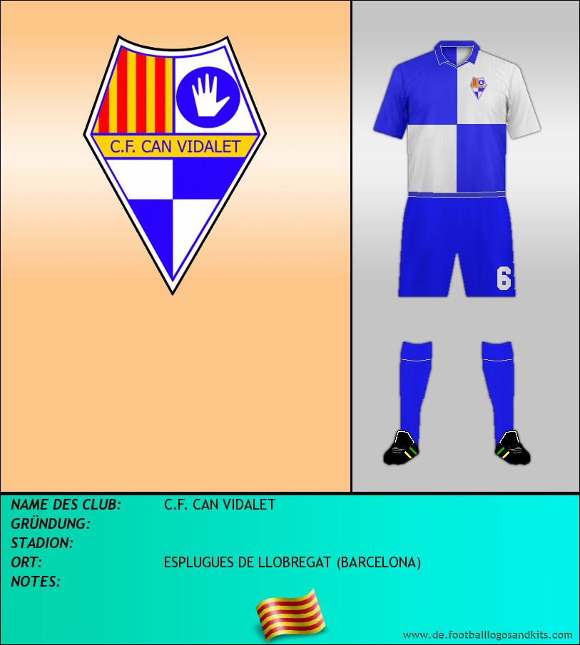 Logo C.F. CAN VIDALET