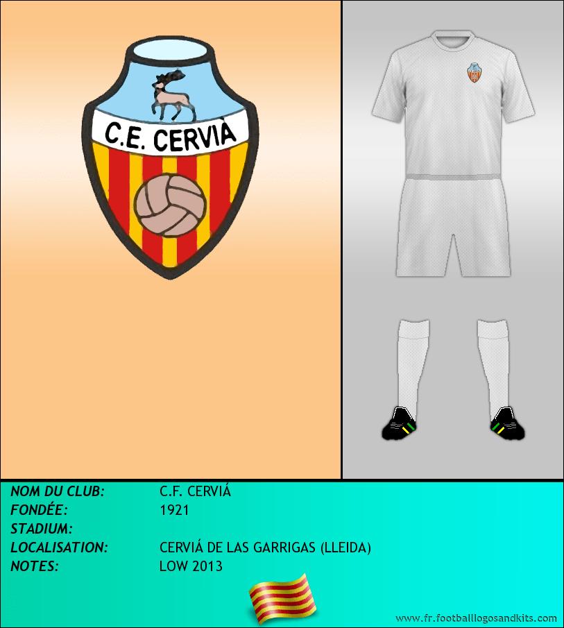 Logo de C.F. CERVIÁ