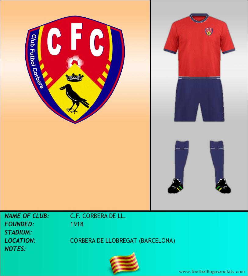 Logo of C.F. CORBERA DE LL.