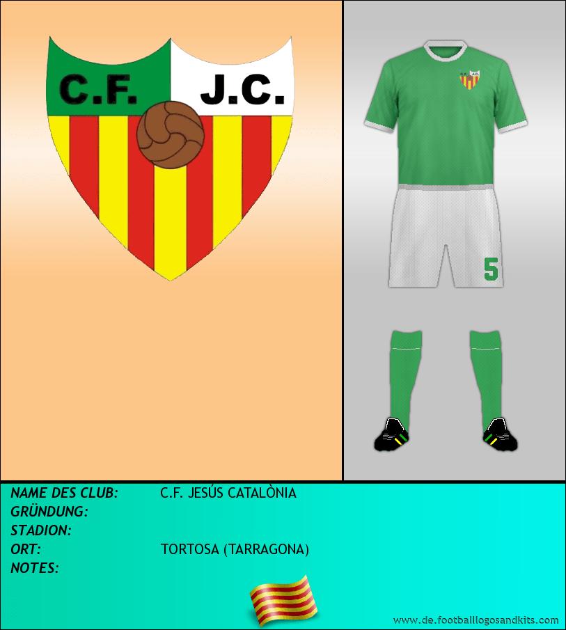 Logo C.F. JESÚS CATALÒNIA