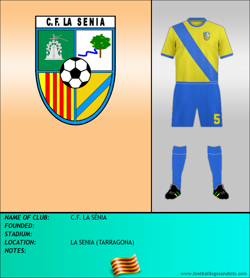 Logo of C.F. LA SÉNIA