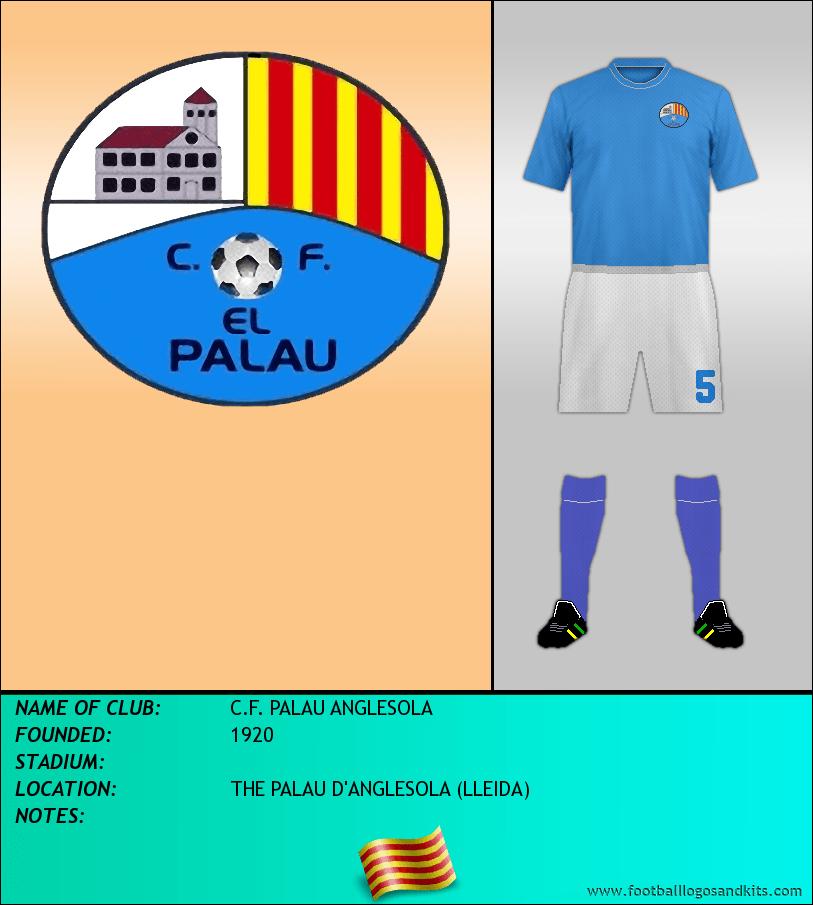 Logo of C.F. PALAU ANGLESOLA