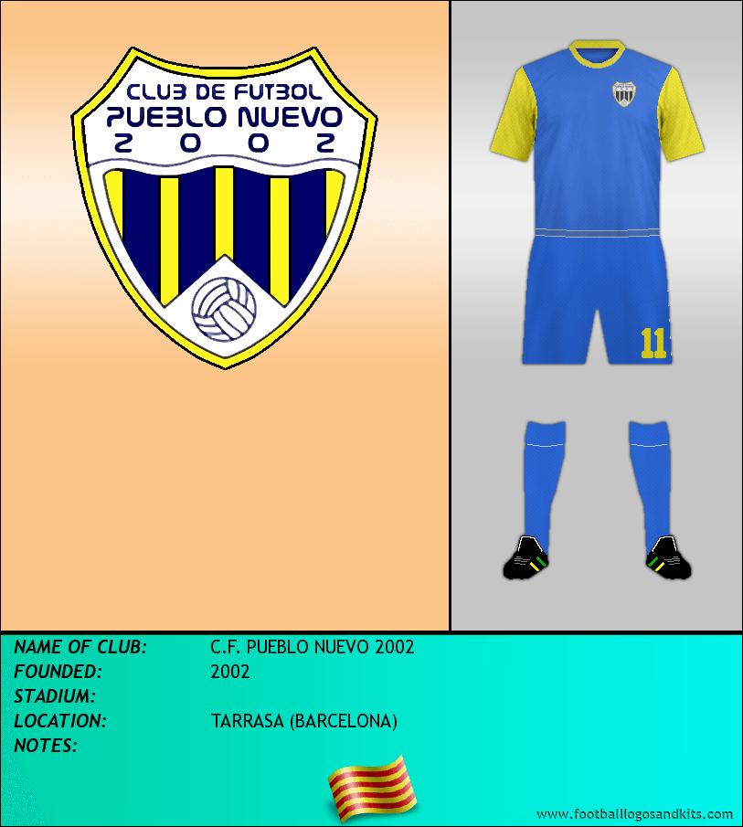 Logo of C.F. PUEBLO NUEVO 2002