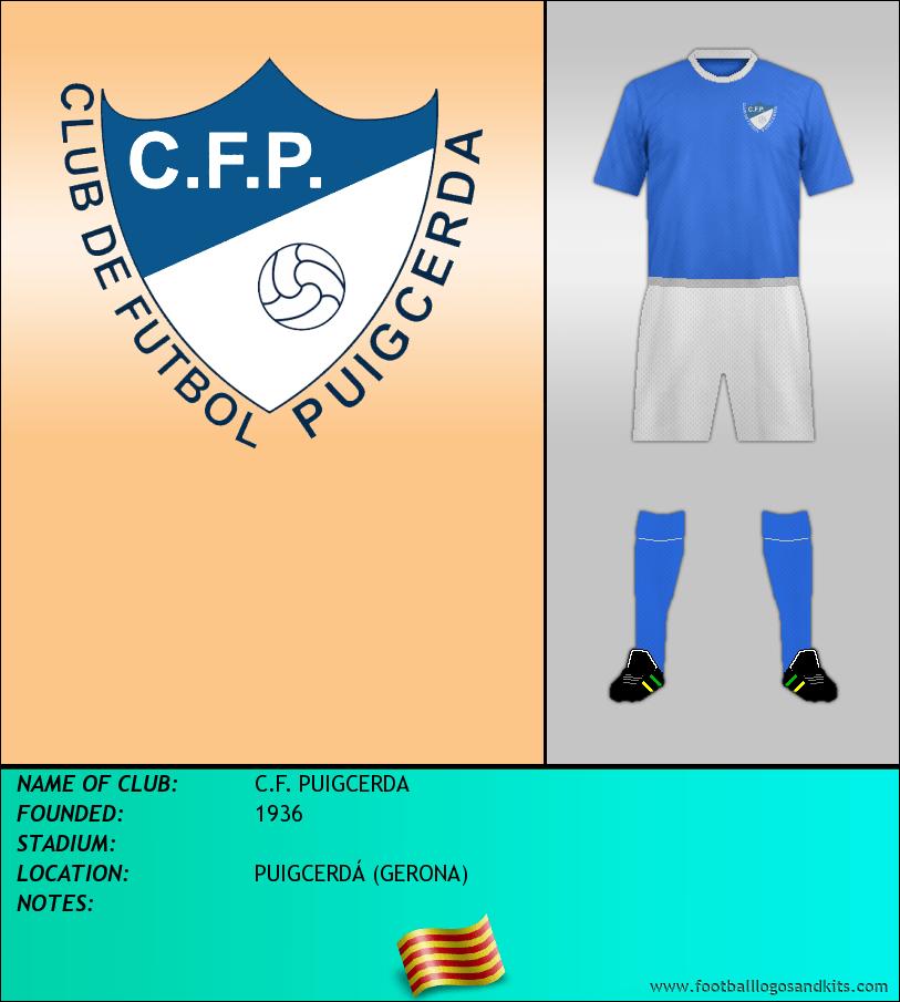 Logo of C.F. PUIGCERDA