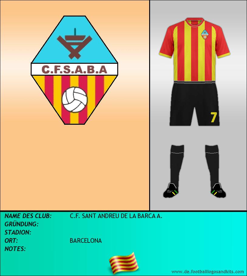 Logo C.F. SANT ANDREU DE LA BARCA A.