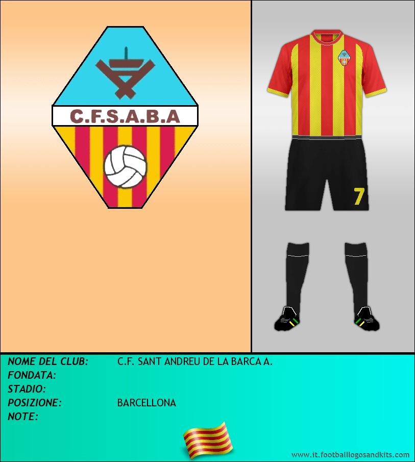 Logo di C.F. SANT ANDREU DE LA BARCA A.