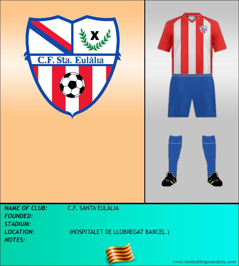 Logo of C.F. SANTA EULÀLIA