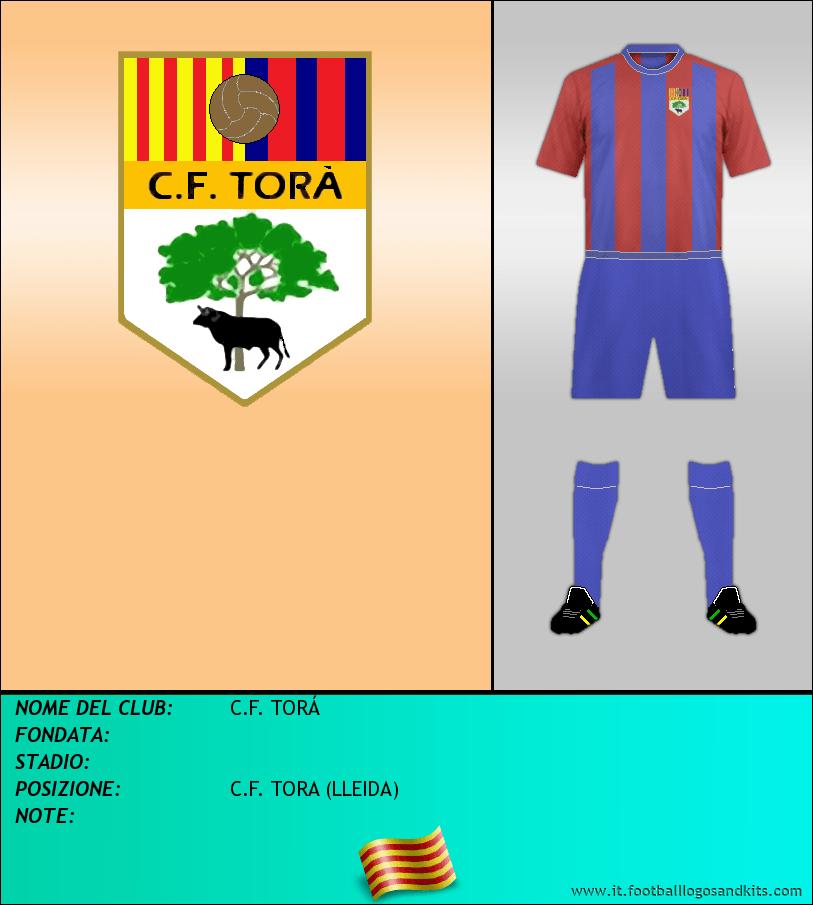 Logo di C.F. TORÁ