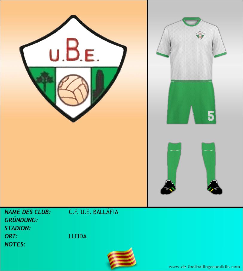 Logo C.F. U.E. BALLÁFIA