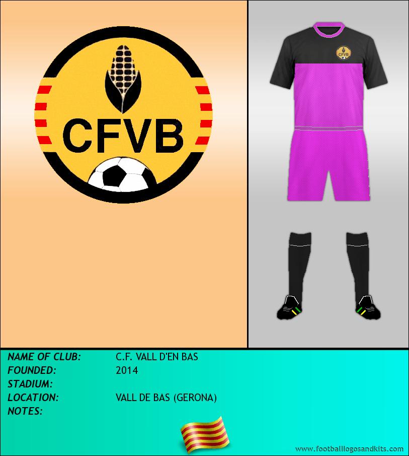 Logo of C.F. VALL D'EN BAS