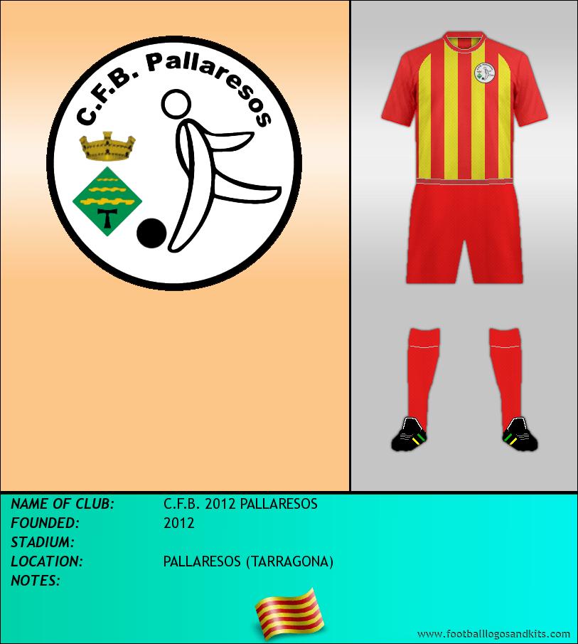Logo of C.F.B. 2012 PALLARESOS