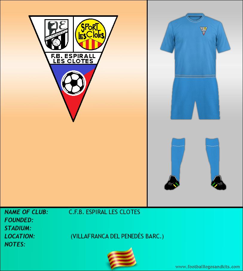 Logo of C.F.B. ESPIRAL LES CLOTES