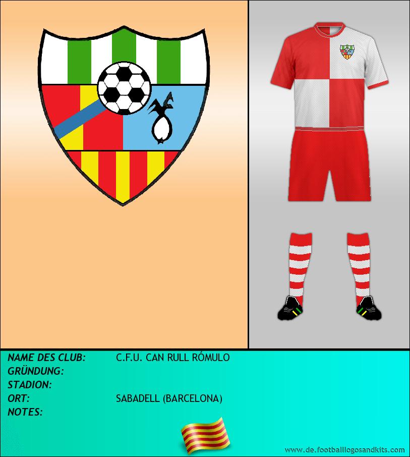 Logo C.F.U. CAN RULL RÓMULO