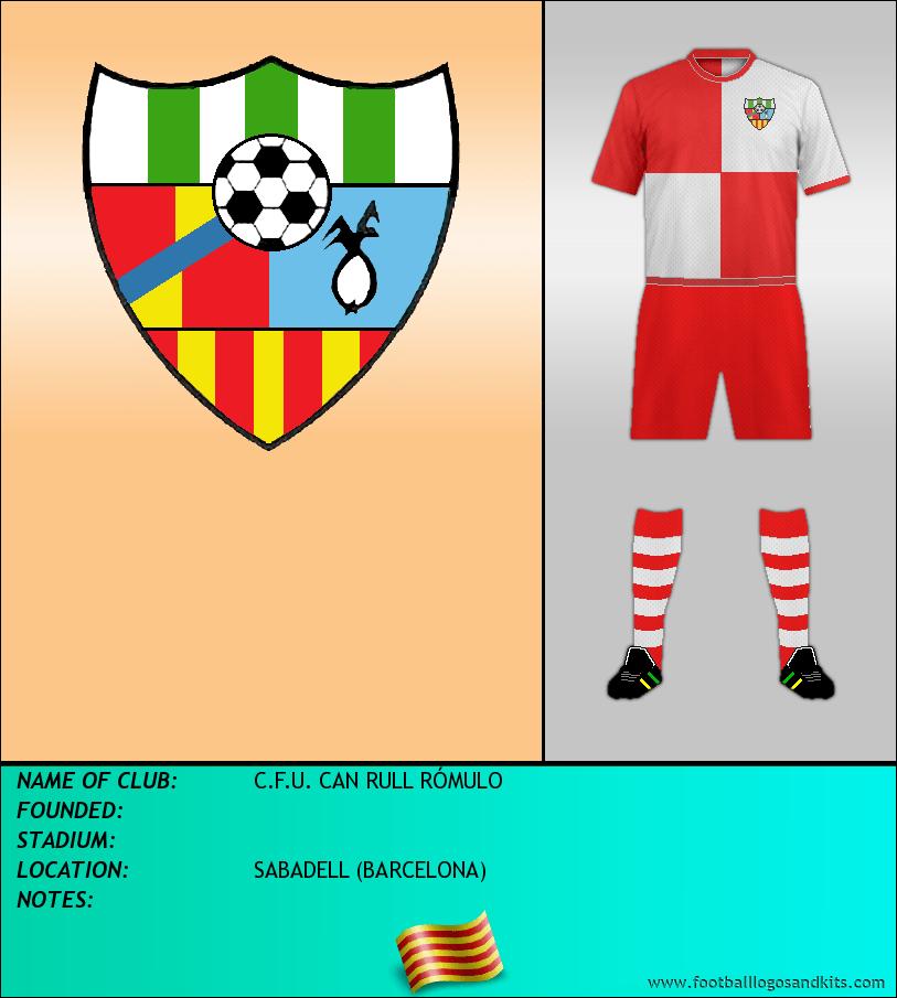 Logo of C.F.U. CAN RULL RÓMULO