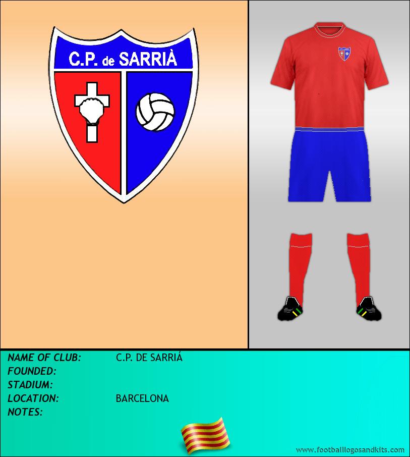 Logo of C.P. DE SARRIÁ