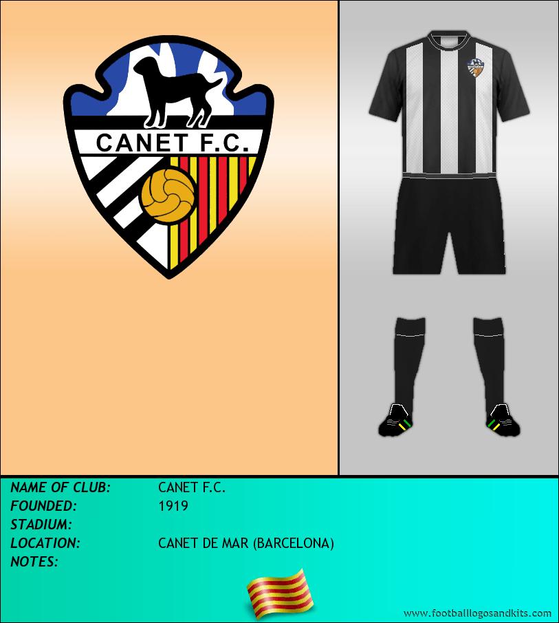 Logo of CANET F.C.