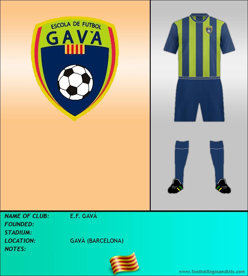 Logo of E.F. GAVÁ