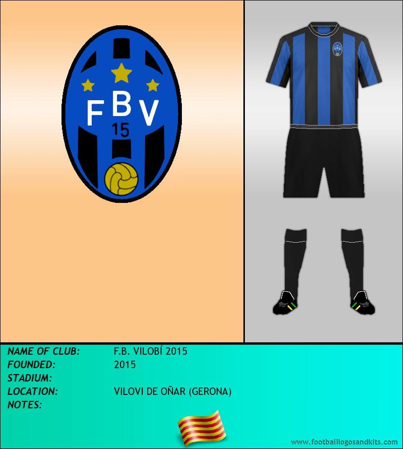 Logo of F.B. VILOBÍ 2015